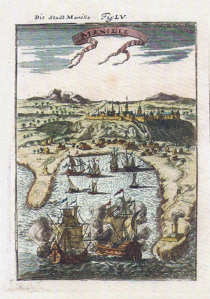 A portrait of Manila in 1684 by Alain Mallet