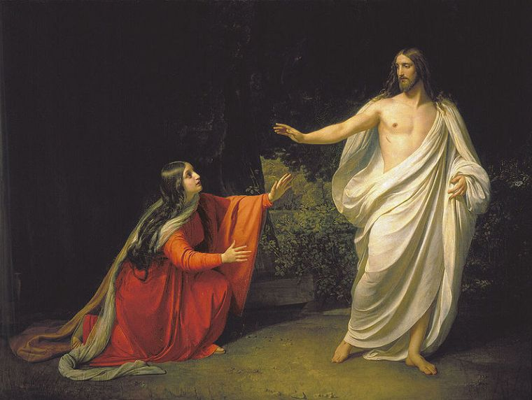 Appearance of Jesus Christ to Maria Magdalena, 1835