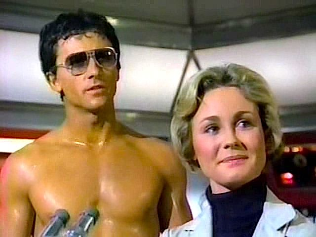 Patrick Duffy as Mark Harris, believed to be the last survivor from Atlantis and Belinda Montgomery, as Dr. Elizabeth Merrill (I had a major girl crush on her because she was a doctor!)
