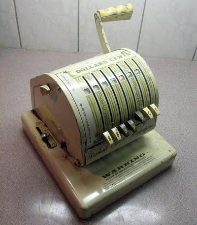 Vintage Paymaster