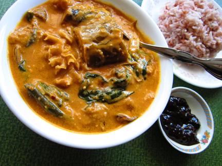 Astig Vegan's vegetarian version of kare-kare