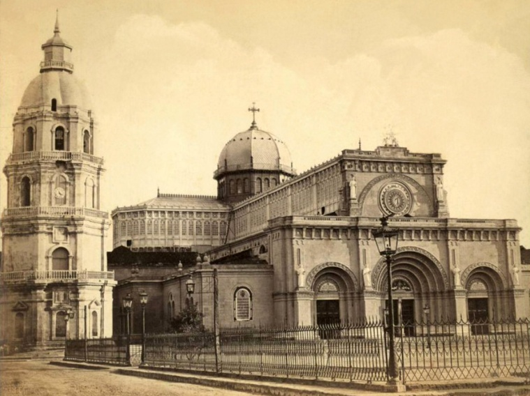 Manila Cathedral before 1880 quake