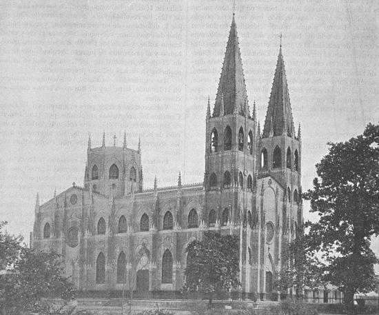 San Sebastián church in Quiapo. Revista de Obras Públicas. 1897 This was a pioneer in the field of prefabricated construction. It incorporates metal constructions made in Belgium in accordance with the design drawn up by the engineer Genaro Palacios y Guerra.