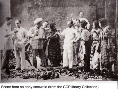 Sarsuwela-scene from an early sarswela 2