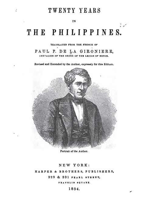 Twenty Years in the Philippines by Paul P. De La Gironiere