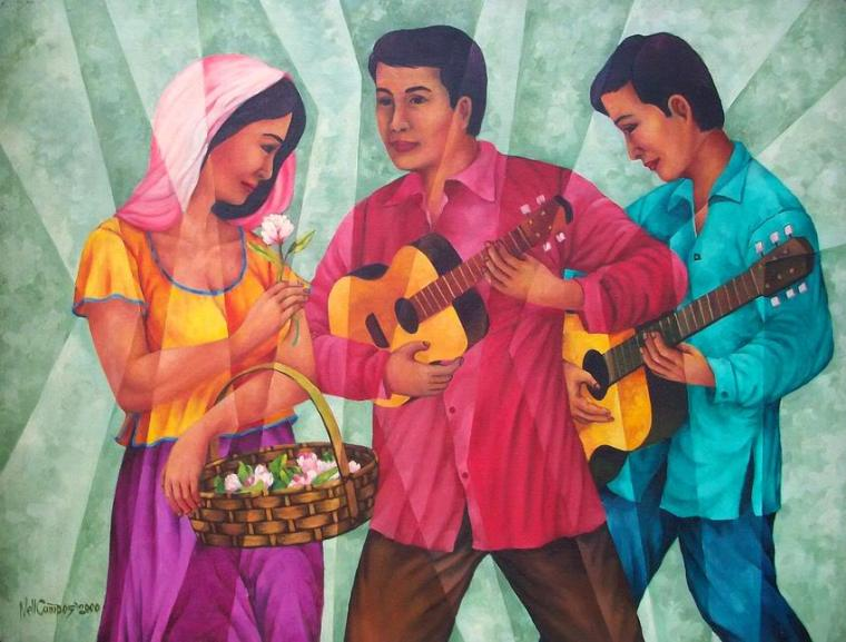 """Harana"" - Painting by Neil Campos"