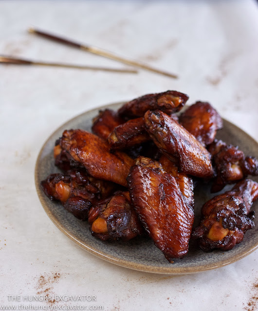 Grilled Chicken Wings with Chinese Rose Wine and Five Spice Powder-4