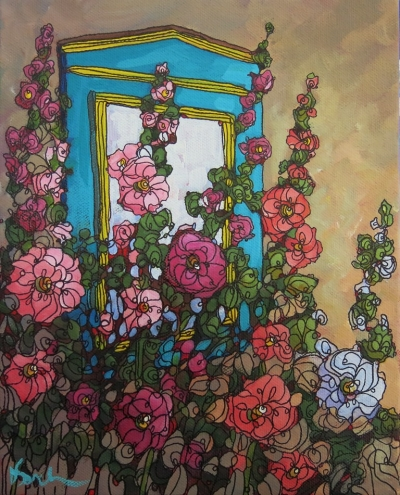 """Old Town Window"" by Dee Sanchez"