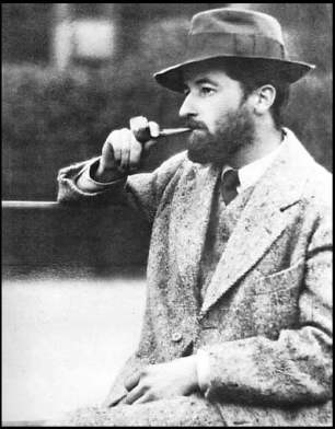 Young William Faulkner in Paris, 1925