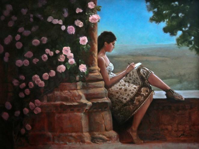 The Writer by Michael Lynn Adams