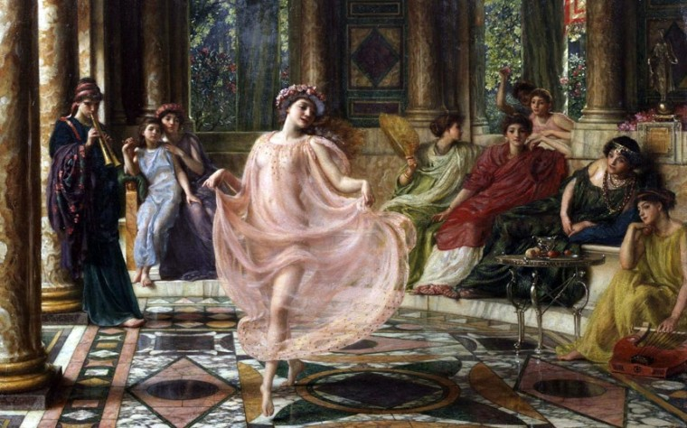 The Ionian Dance by Sir Edward John Poynter